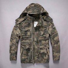 Куртки Abercrombie & Fitch камуфляж