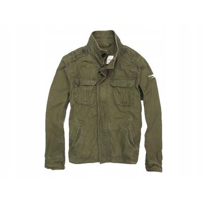 Куртка Abercrombie & Fitch короткая олива