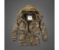 Куртка Abercrombie зима(мех) камуфляж