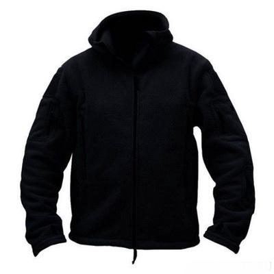 Флисовая куртка черная