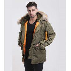 Куртка мужская HUSKY CAPERS\ORANGE