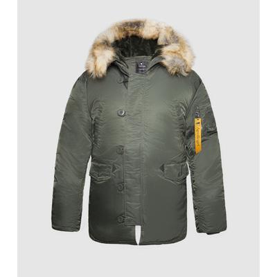 Куртка Аляска N-3B (TIGHT HUSKY II) Forest nig/forest