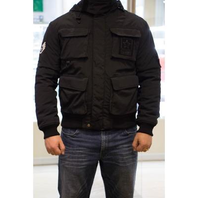 Куртка 726  черная