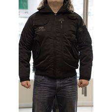 Куртка зимняя 7.26 черная