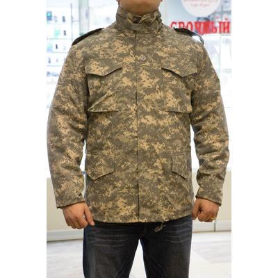 Куртка Зимняя М-65 цифра серая