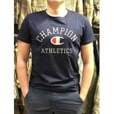 Футболки Champion с 3D принтом синяя