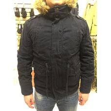 Куртка Ambercrombie темно-синяя