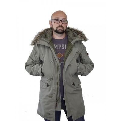 Мужская зимняя куртка N3B Аляска Cotton