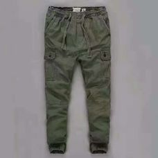 Abercrombie Fitch jogger олива
