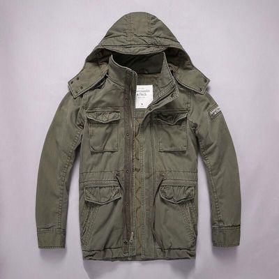 Куртка Abercrombie & Fitch светлая олива